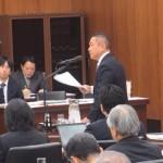 東日本大震災復興特別委員会で質問に立ちました。