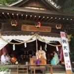 市内神社の例大祭の時期になり、改めて戦後70年間の平和を後世につなげていくことが、僕たちの責任であると自覚しております。