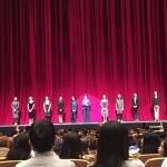 今夜は華麗な洋舞連盟30周年記念の合同講演にお邪魔しております。