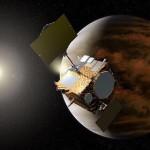 金星探査機あかつきが9日、金星周回軌道に入りました。