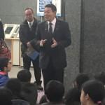 小学生の国会見学での挨拶