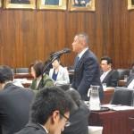 特別委員会にて河野大臣へ質疑