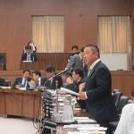 衆議院選挙区画定審議会設置法と公職選挙法の改正に関する質疑登壇
