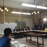 民進党国対・理事合同会議