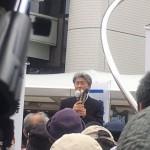 都知事選 鳥越俊太郎候補 町田駅で訴える!