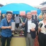 本日はインターン生の鈴木美朝さんが地域のイベントに参加中です。