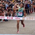 出雲全日本大学選抜駅伝が開催!青山学院大学が2連覇達成。