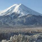 富士山を目の前にして活動をスタート