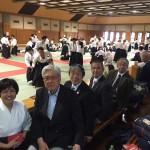 神奈川県合気道連盟 第4回講習会に県立武道館にきております。