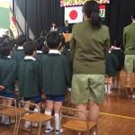 本日も緑区内の幼稚園卒園式に出席させていただきました。