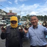 仕事帰りに、沼津市の戸田(へだ)漁港まで来ました。
