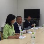 本村がリーダーとして支援するのは、町田市の今村るか都議です。