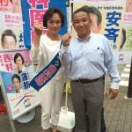 東京都議選 ゴングまであと1日
