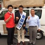 東京都議選応援