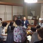 横浜市長選応援から地元に戻り、緑区にてタウンミーティングを開催。