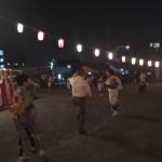 今夜は荻野目洋子さんの「ダンシングヒーロー」を盆踊り大会にて、踊ってきました。