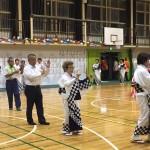 今夜はJA大野支店の盆踊り大会です。