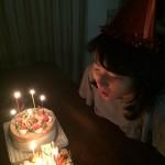 家内のお誕生日