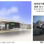 JR相模線・番田駅の駅舎が、来年春リニューアルします!