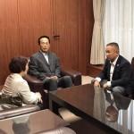 国会でも取り上げてきました「放課後児童クラブ」の現状を伝えに、加山としお相模原市長と面会させていただきました。