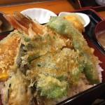 ランチ「千福寿司」さんの「天重(800円)」をガッツリといただきました。