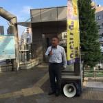 本日も淵野辺駅頭からスタートし、南区内神社例大祭に4カ所参加させていただきました。