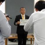 本日は相模原市役所記者クラブにて、総選挙に向けた写真撮影などを行いました。