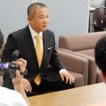次の選挙に向けたもとむらの決意、県連代表として。などお話させていただいております。