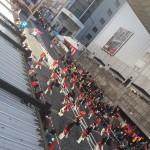 本日も晴天の中、農業まつり〜子供食堂にてランチ〜もちつき大会〜町田フェスティバル〜ボーリング大会〜なかいち〜敬老会などと走っております。