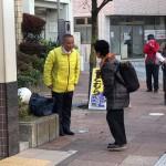 今朝は小田急相模原駅頭からスタート。
