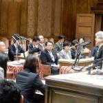 本日、北朝鮮による拉致問題等に関する特別委員会が開かれ、横田早紀江さんをはじめとする5名の参考人にお越しいただいての閉会中審査が行われました。