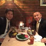 男のディナー 鷲尾 英一郎衆議院議員のお薦め店である「GAIN (ゲイン) 」さんで、お肉をガッツリといただきました。