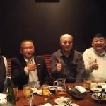 藤井裕久先生の秘書時代から良き先輩としてお世話になり、県議時代から青年部を築いてくださった皆さんとの新年会