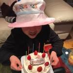 娘の誕生日会  うちの娘は9歳になりました。