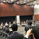 野党6党合同による、茂木大臣の線香問題に関するヒアリングが開催されました。
