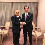 元文部科学大臣 髙木義明先生 感謝の会