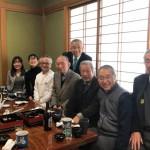 本日は藤井裕久先生を囲んだ食事会が行われるため、予算委員会が終わりしだい急いで地元へ。