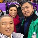 平昌冬季五輪3日目を迎え、江陵アイスアリーナで行われたフィギュアスケート団体(アイスダンス ショートダンス、女子シングル ショートプログラム)の日本チームを応援してきました。