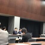本日も民進党と合同で働き方改革検討のための合同会議が開催されています。