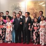 大韓民国 丁世均(チョン・セギョン。与党 共に民主党。六期)国会議長主催による歓迎夕食会が議長公邸にて行われました。