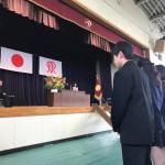 母校 麻高 第42期生の卒業式に出席させていただきました^ – ^