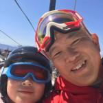 本日は青年部のご家族と5年ぶりのスキーへ^ ^