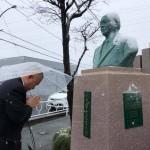 本日は小川勇夫 前相模原市長のご命日。