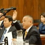 北朝鮮による拉致問題等に関する特別委員会が開催され、僕も三大臣に対して質疑にたたせていただきました。