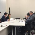 党の部会が開かれ、改正バリアフリー法についてヒアリングが行われております。