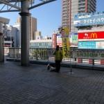 5月5日 今朝はJR相模原駅頭からスタート。