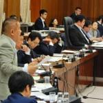 境川の整備  今日は国土交通委員会で午前、午後の2回質疑をさせていただきました。