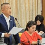 今日は国土交通委員会で質疑をさせていただきました。今週6回目の質疑登壇です。今日の議題はシップリサイクル法案。