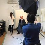 本日午前中は、国会活動の合間をぬって先輩議員お薦めのスタジオにて撮影をしました。