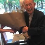 藤井裕久先生、お誕生日おめでとうございます^ ^